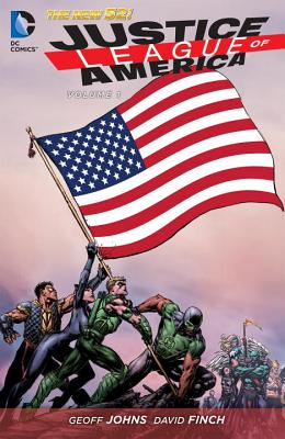 Justice League of America 1 By Johns, Geoff